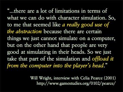 Abstraccion y el acto de jugar dentro de juego