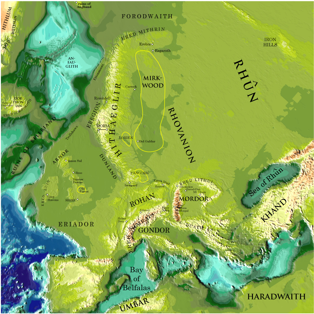 Map Of Valinor