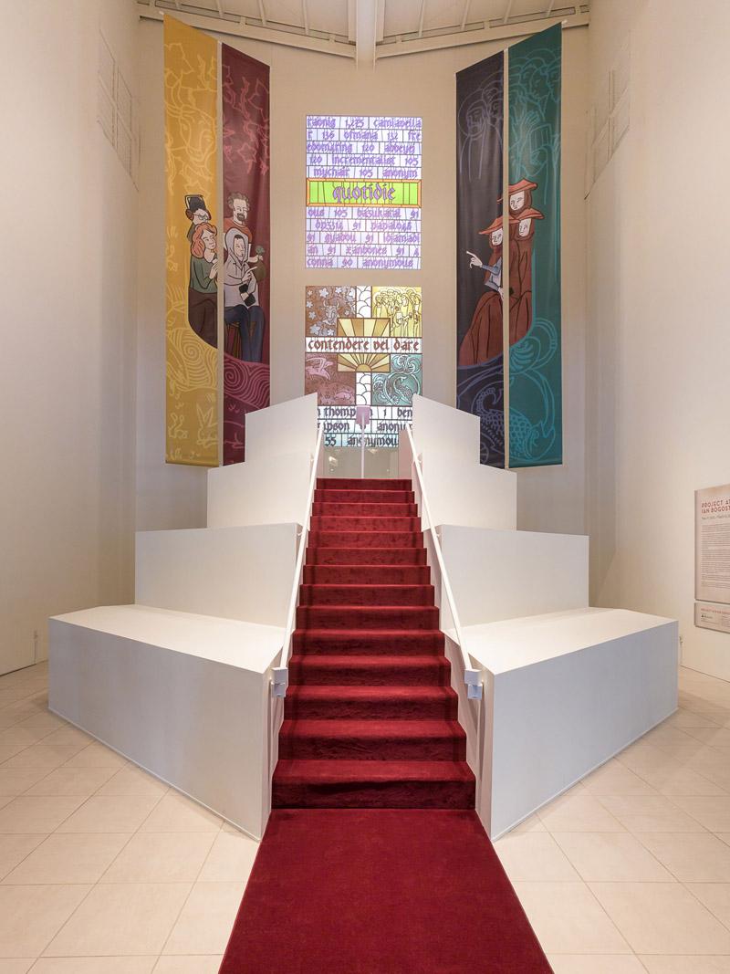 Simony installation, MOCA Jacksonville, 2012-13